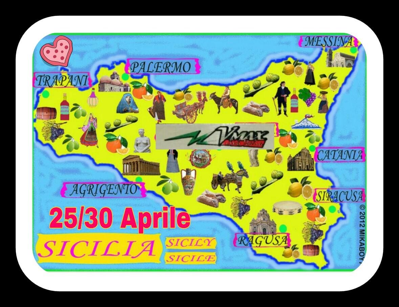 Sicilia da Ovest ad Est